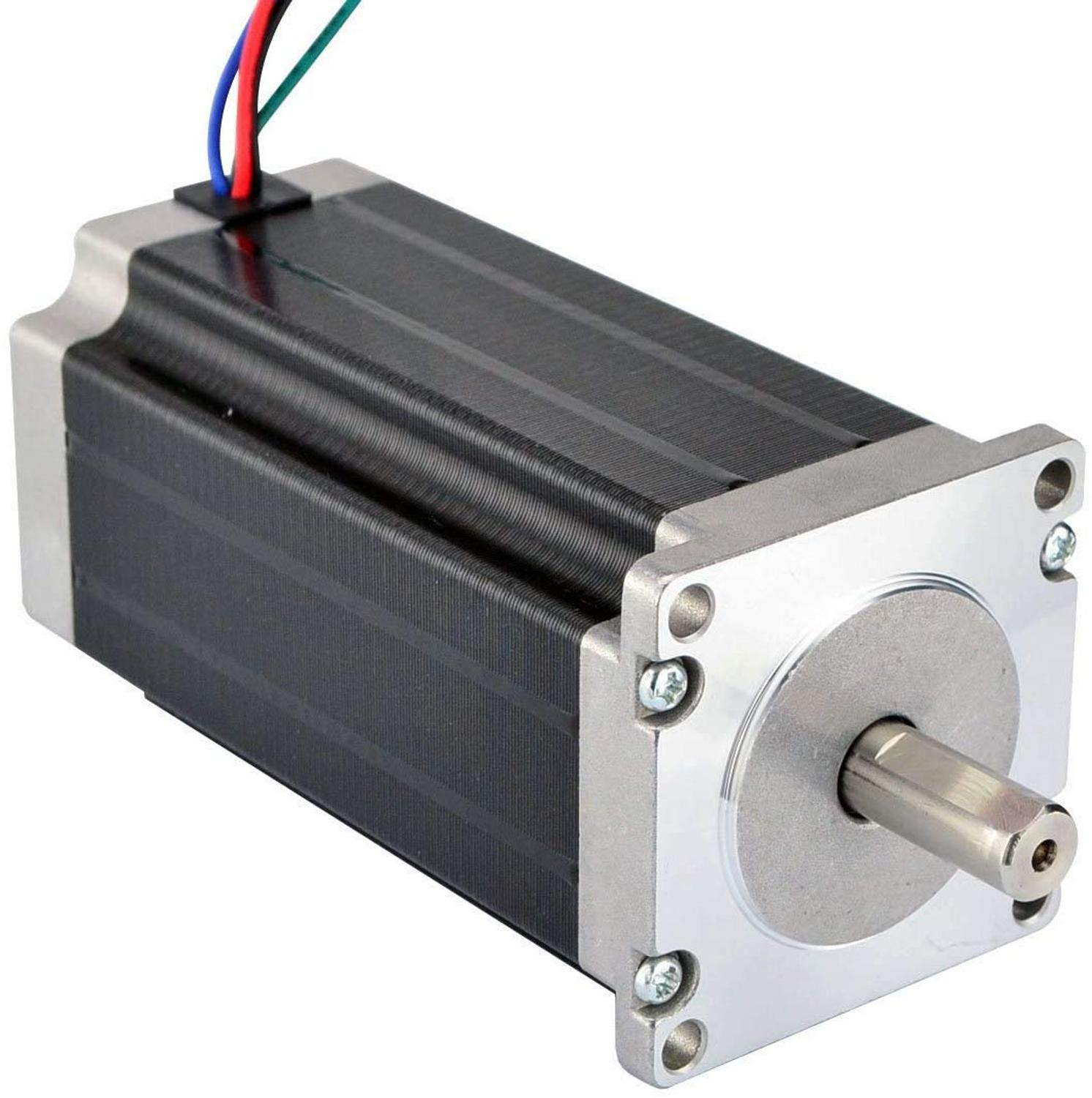 Wantai Nema23 Stepper Motor 57BYGH440-13 Single Shaft 177oz-in 56mm 4A CE ROHS ISO CNC Router Laser Printer Robot