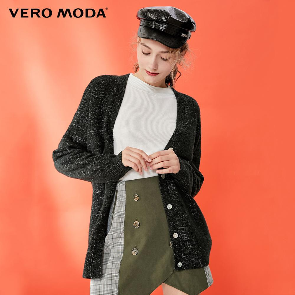 Vero Moda Women's Decorative Bright Yarn Cardigan Knit | 319324560