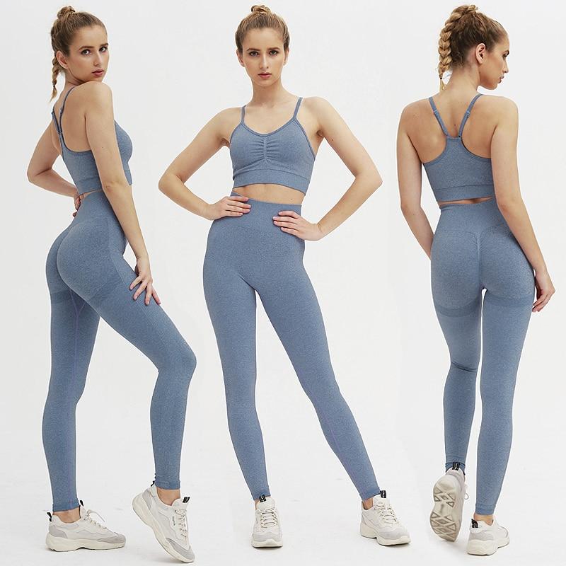fitness roupas esportivas para as mulheres treino feminino conjunto