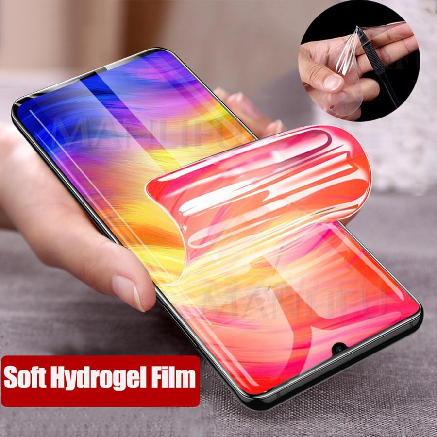 9D Front Back Soft Silicone Hydrogel Screen Protector For Xiaomi Mi A3 Lite CC9 9T 9T Pro Redmi 8 Note 8 K20 Pro Protective Film