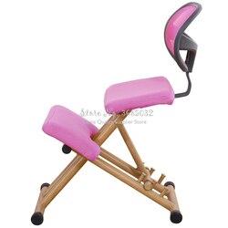 Ergonomischen Entwickelt Kniend Stuhl Hocker Griff Höhe Einzustellen Büro Knie Stuhl Ergonomische Richtige Haltung Stuhl