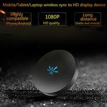 Kebidumei G6 bâton de télévision HD 1080P WiFi affichage récepteur Dongle pour Anycast HDMI pour Android iOS pour DLNA Airplay PK M2 bâton de télévision