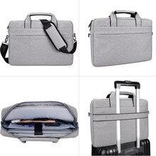"""15.6 """"17"""" محمول حقيبة الكتف سعة كبيرة مقاوم للماء حقيبة يد 17.3 بوصة ل ASUS ماك بوك ديل أيسر لينوفو دفتر حقائب النساء الرجال"""