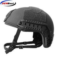DEWbest FDK 04 Präzision Helm Military Proof kugel helme Kampf Kugelsichere Helme NIJ IIIA Ballistische helme