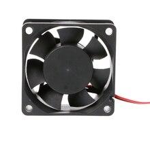 60 мм% C3% 9760 мм% C3% 9725 мм постоянный ток 12 В 24 В 2 контакта кулер бесщеточный ПК ЦП корпус охлаждение вентилятор