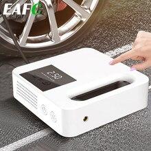 Mini gonfleur de pneus portable avec pompe à Air électrique de grand écran, compresseur d'air de voiture, 12V