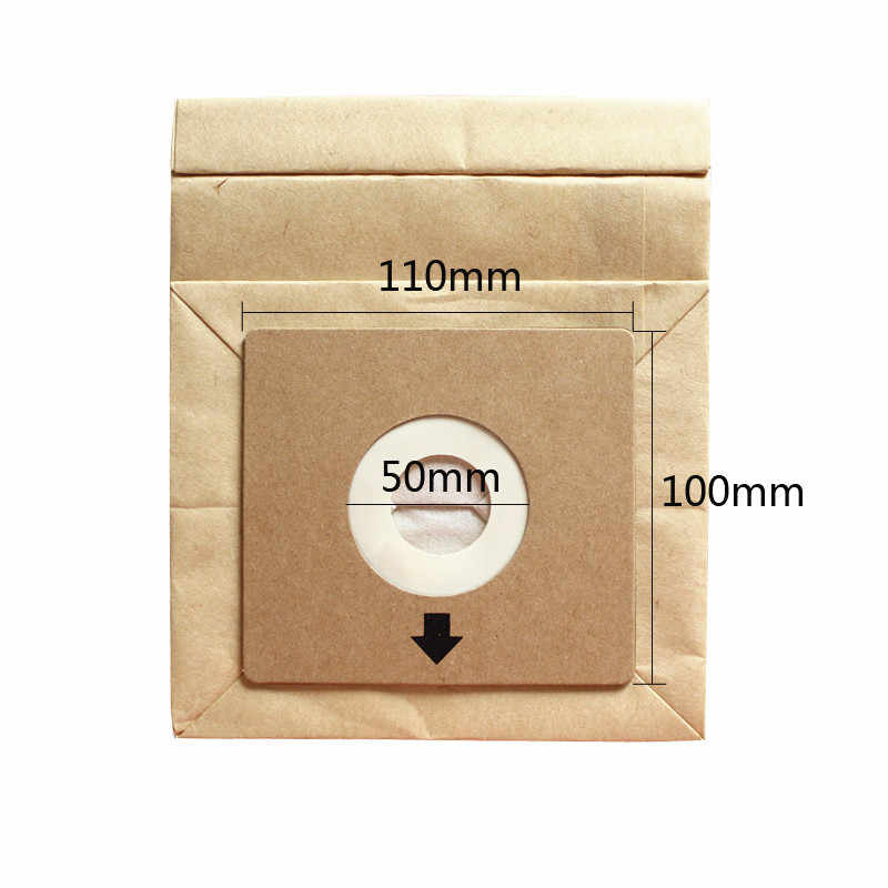 5Pcs Universal Vacuum Cleaner Dust Paper Bags Replacement for Z1550 Z2332