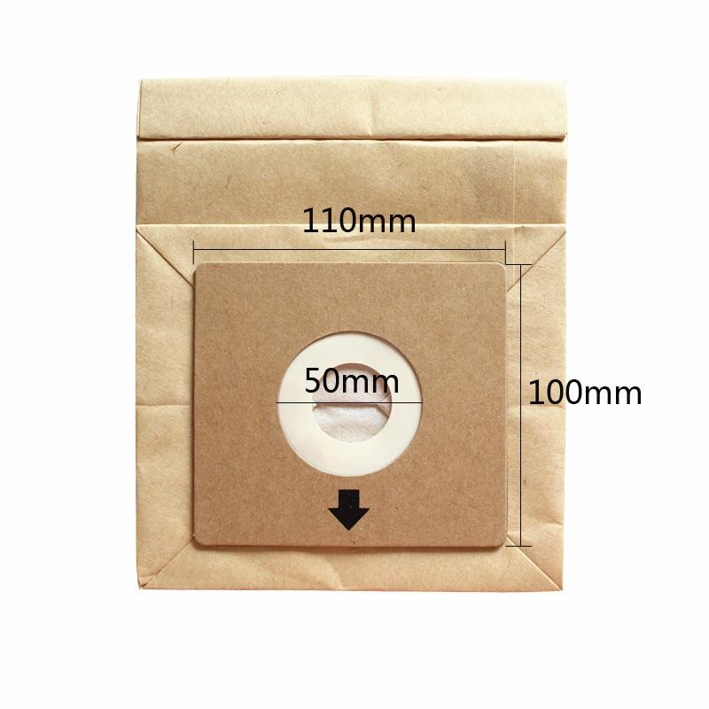 Мешки для пылесоса одноразовые универсальные, 2 слоя, 100*110 мм
