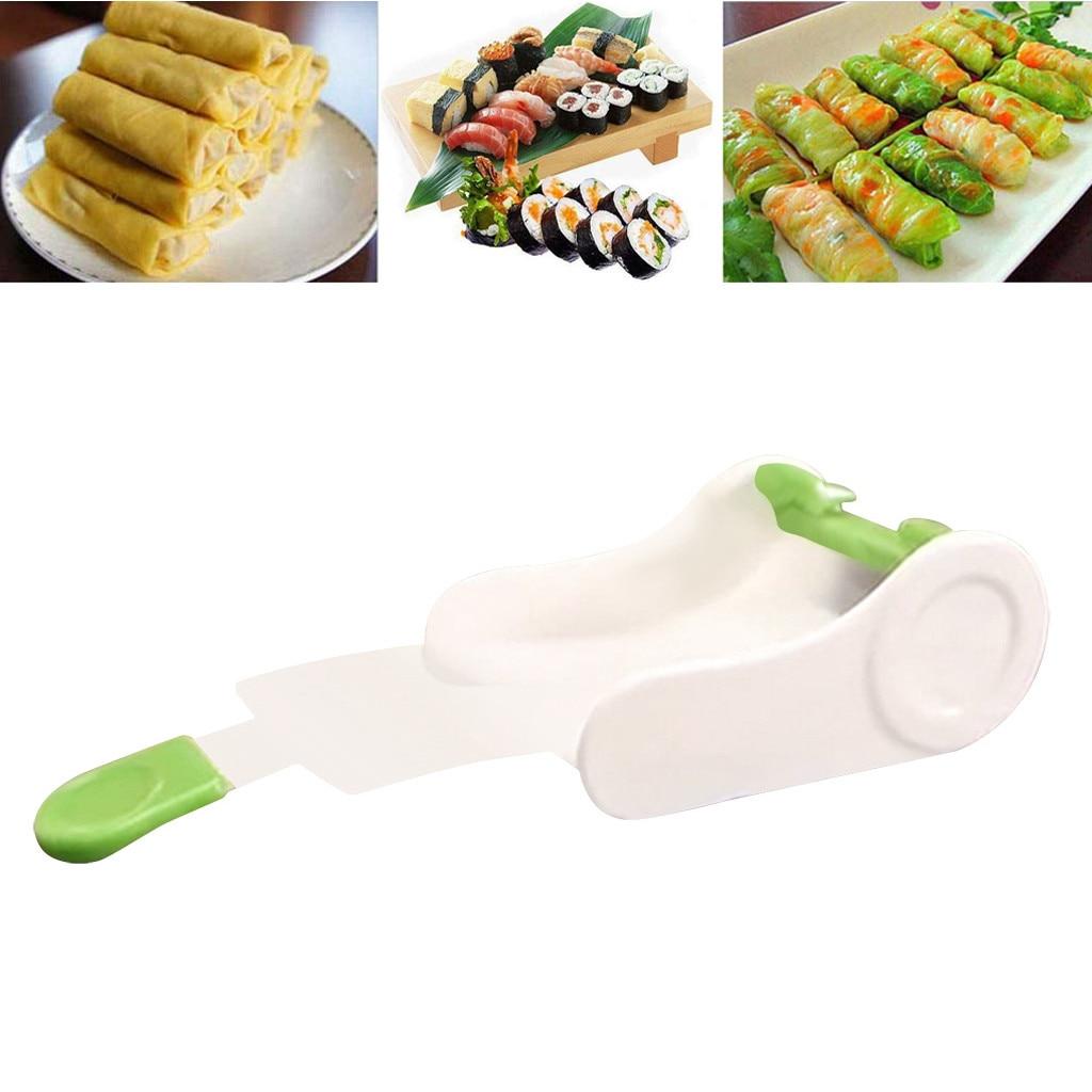 Bola de arroz japon/és molde para rollo de pastel Sushi herramientas multifuncionales para hacer Sushi 11 unids//set Kit de equipo para hacer Sushi