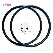 YASE 29er Углеродные Диски для горных велосипедов обод 30x22 мм Асимметричная бескамерная велосипедный Руль стальной диск MTB Диски ERD 594 мм 380 г
