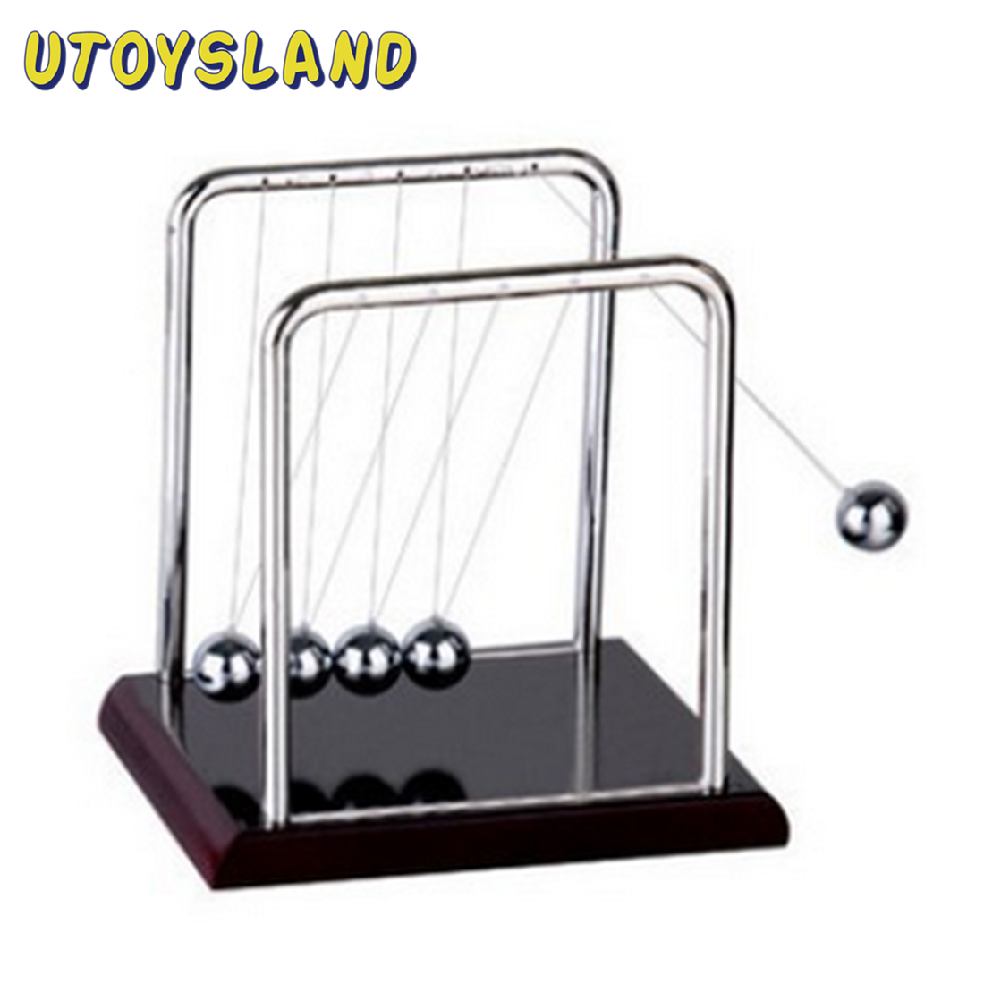 Newton Metal Cradle Balance Ball Physics Science Desk Toy Science Puzzle Fun Desk Toy S For Kid Gift