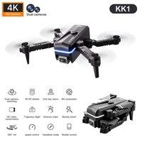 Mini Dron Kk1 4K, cámara Dual de Hd, mantenimiento de altura, Wifi, Fpv, Fpv, cuadricóptero de juguete, 4k, juguetes profesionales, novedad de 2021