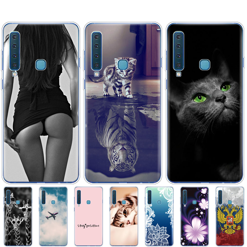 For Samsung Galaxy A9 2018 Case Samsung A9 2018 Cover Silicone TPU Phone Case For Samsung A9 2018 A920F A920 SM A920F Cover Capa-in Fitted Cases from Cellphones & Telecommunications