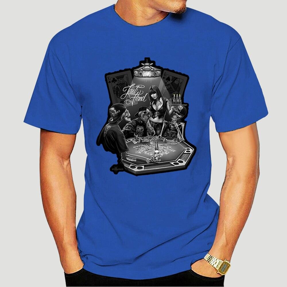 David Gonzales Art Dga Tee Shirt Last Hand Poker Gambling 6240X