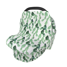 Multifunctional Nursing Cover Breastfeeding Scarf Baby Car Seat Covers Cotton Stroller Canopy Blanket for High Chair