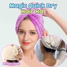 Волшебный быстросохнущая шапкой с ушками, Для женщин Ванная комната супер впитывающее банное из микроволокна Полотенца сухих волос Кепки Прямая