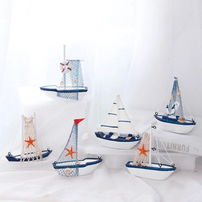 Купить морской мореходный креативный парусник режим номер фигурки миниатюрные