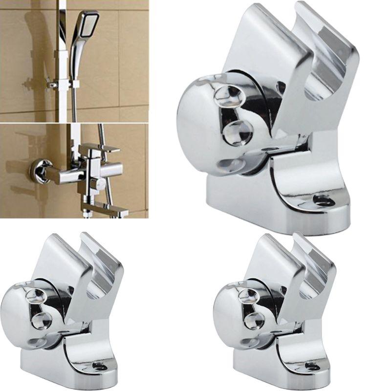 Adjustable Shower Head Holder Universal Rotation Bath Showerhead Stand Wall Mounted Bracket Bathroom Tools Accessories
