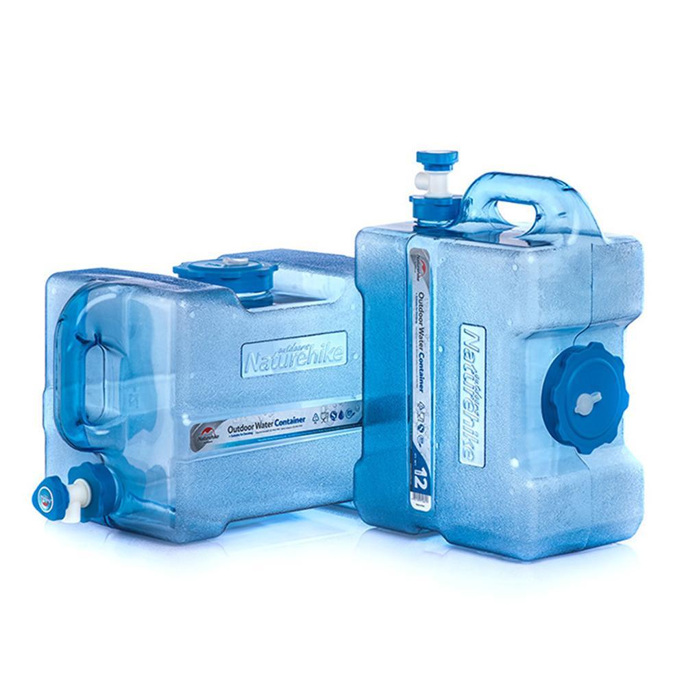 24L plein air potable eau Pure seau pique-nique réservoir d'eau maison voiture sac de stockage d'eau conteneur avec robinet pour randonnée Camping