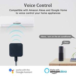 AVATTO S06 мини умный дом автоматизация 2,4 ГГц WIFI ИК пульт дистанционного управления с Alexa,Google домашний голосовой Интеллектуальный универсальный пульт дистанционного управления