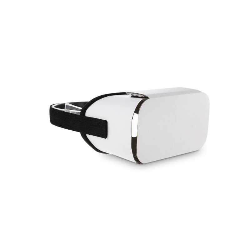 3D VR Kacamata Virtual Reality Diy Karton Headset Headband untuk 4.7 - 5.5 Inch Ponsel Pintar