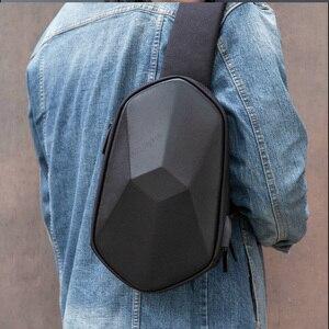 Image 5 - Xiaomi 원래 beaborn 다면체 pu 배낭 가방 방수 위장 레저 스포츠 가슴 팩 가방 남성 여성 여행