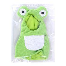 Funny Frog Shaped Birds Clothes Parrots Costume Cosplay Winter Pet Accessories Q0KA