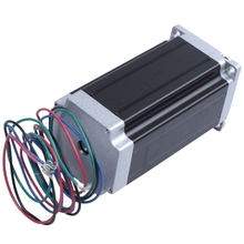 Stepper Motor 112 X 57Mm High Torque 3.0A 3Nm Two-Phase 4-Wire Single-Axis 24V Stepper Motor