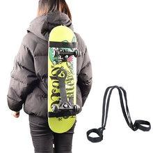 Универсальный плечевой ремень для скейтборда прочный регулируемый