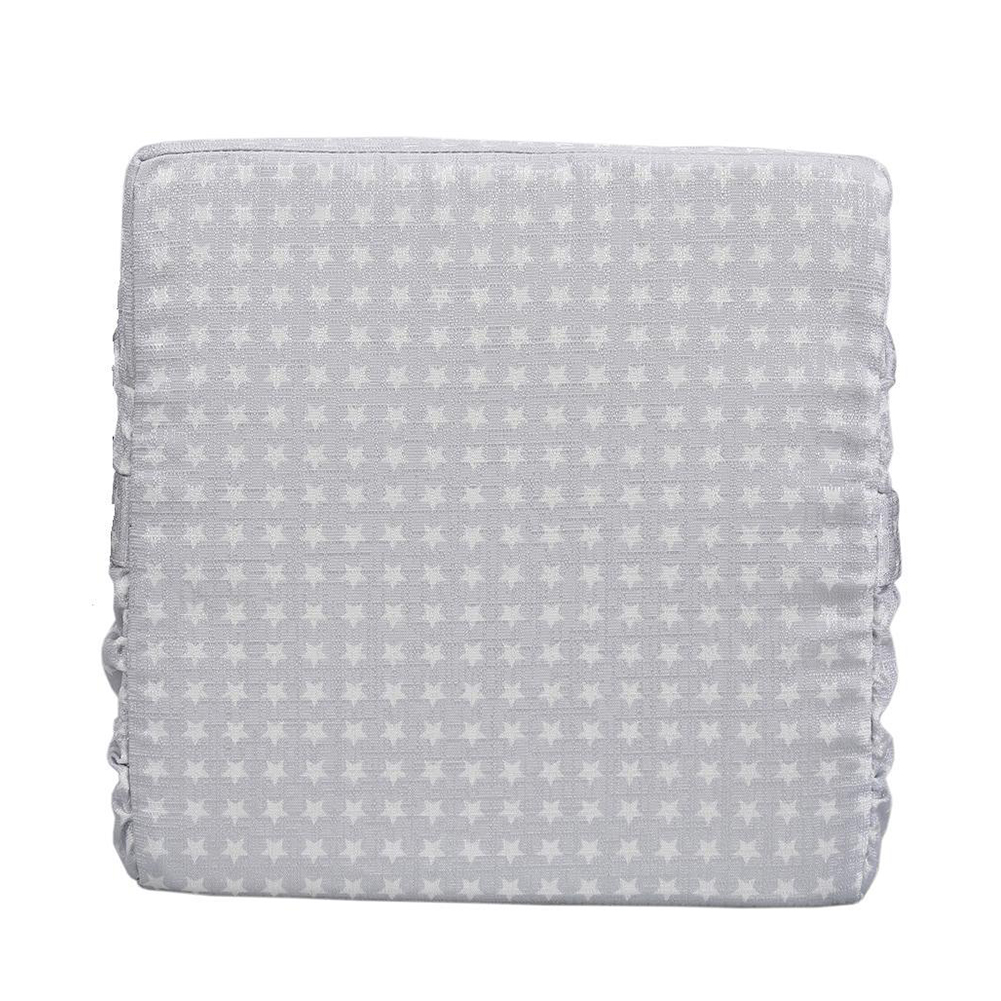 Removable Sponge Washable Kids Chair Cushion Home Soft Highchair For Baby Booster Seats Dining Pad Increased Adjustable Square