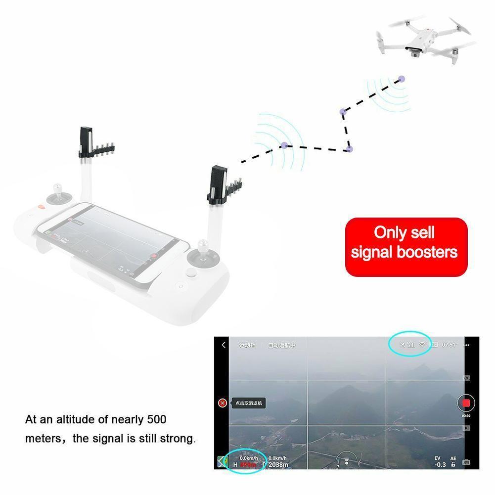 Remote Controller Signal Booster Antenna Range Extender SE 2   For DJI Mavic    Fimi Air 2 Drone Phantom 4 Mavic X8 Mini 3 X8Z2