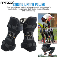 Aptoco Breathable Non slip Joint Support Knee Pads Lift Knee Pads Care Powerful Rebound Spring Force Knee Booster VIP LINK