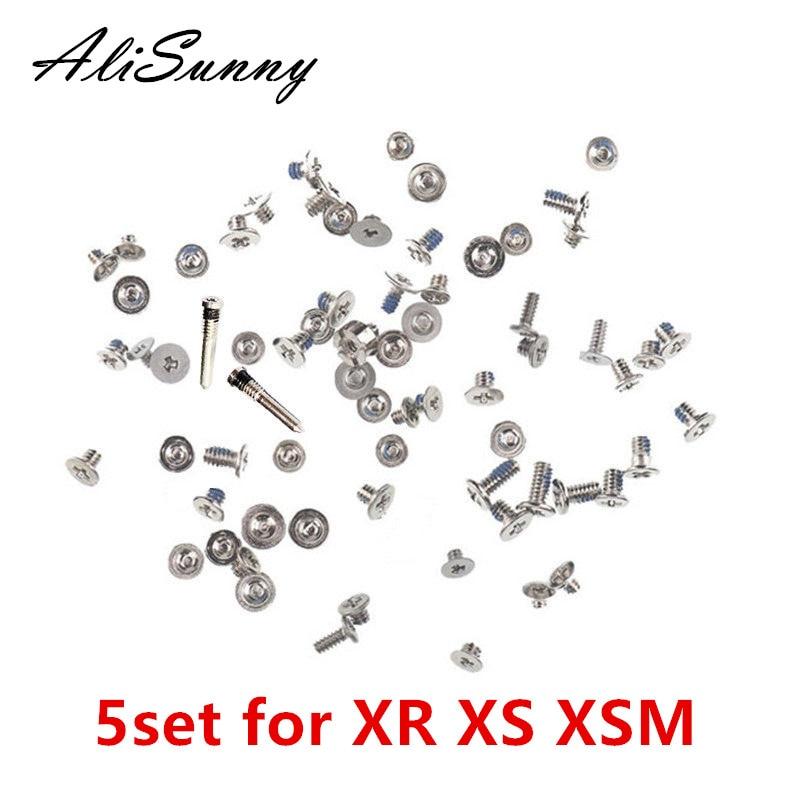 AliSunny 5set Full Screw Set for iPhone XR XS XSmax XSM