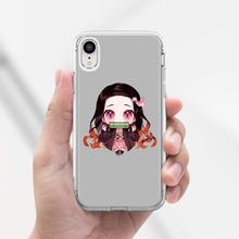 Bande dessinée démon Slayer Kawaii couverture de peau douce pour ZTE lame A520 A512 A452 A602 A5 2019 V6 V7 V8 V9 V10 Lite Viat(China)