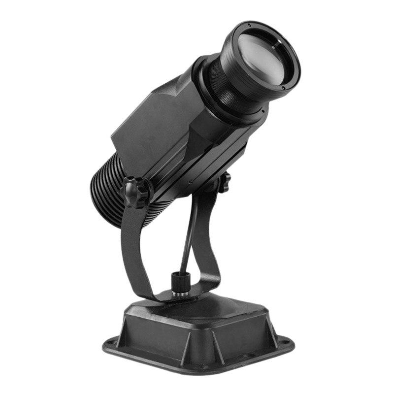 15 W LED Customized Image Gobo Logo Projector Light for Interior Advertising Company Hotel Restaurant EU Plug