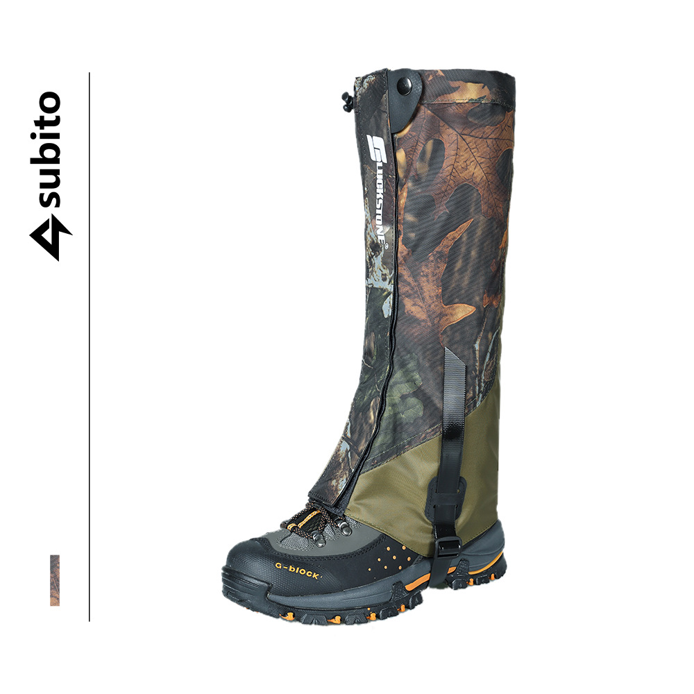 Cross Border For 500D Camouflage Waterproof And Breathable Booties Mountain Climbing Desert Hiking Wear-Resistant Sand-proof Leg