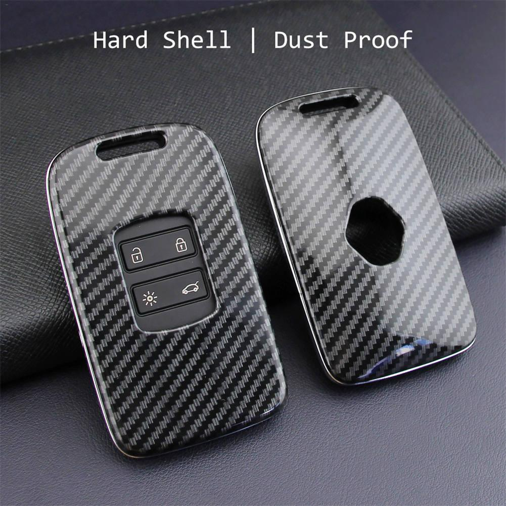 Image 5 - Car Key Case Fob Bag Holder ABS Hard Shell Cover Parts Fit For Renault Koleos 2017 2019 Kadjar Megane Car Key Accessories-in Key Case for Car from Automobiles & Motorcycles