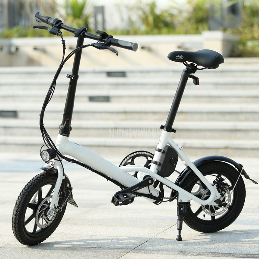 D3 Mini Electric Bike Two Wheels Electric Bicycle 14 Inch 36V 250W Adults Portable Foldable Electric Bicycle With Seat New