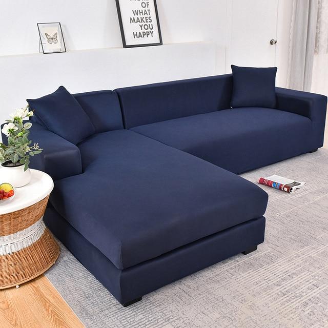 Szary kolor elastyczna kanapa narzuta na sofę Loveseat okładka narzuta na sofę s do salonu narożnik narzuty fotel meble okładka