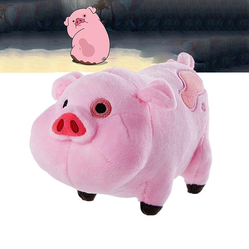 Gravity Falls Plush Toys Pink Pig Waddles Soft Stuffed Animal Doll Cute 16cm Mini Figure Toys Girls Boys Juguete Birthday Gift