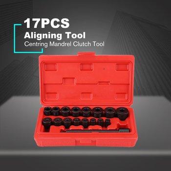 17 Pçs/set Metal Ferramenta De Embreagem Embreagem Centrando Mandril Ferramenta Instalação Acoplamento Coluna Set Clutch Alignment Tool Kit Acessórios Do Carro