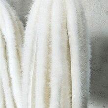 Высококачественная лента из натурального меха норки, пушистая отделка, аксессуары для одежды, швейные поделки, полоски из натурального мех...