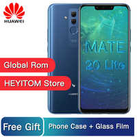 Huawei Mate 20 Lite Maimang 7 6GB 64GB Global Rom Mobile Phone 6.3 inch Kirin 710 Octa Core 9V/2A Quick Charge Android 8.1