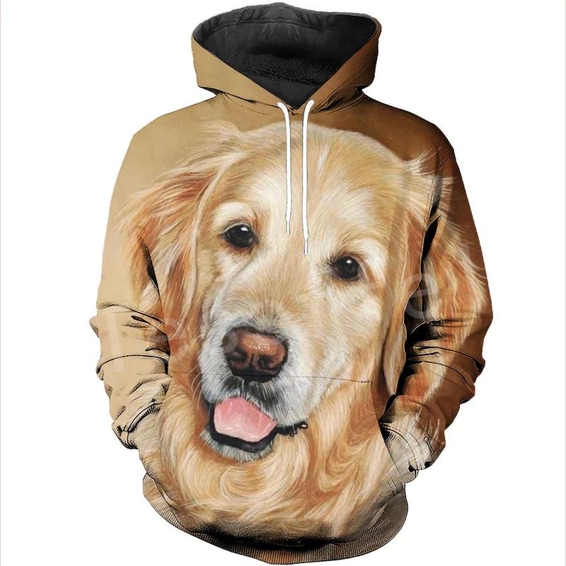 Tessffel Animal Cartoon Cute Dog Art Tracksuit Casual Harajuku 3D Print Hoodie/Sweatshirt/Jacket/Men Women New Fashion S6