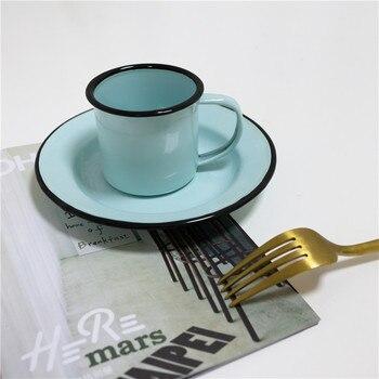 Juego De Tazas De café clásicas japonesas De cerámica, Juego De platillos,...