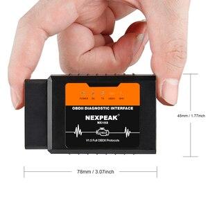 Image 4 - Đa Năng OBD2 ELM327 V1.5 Bluetooth/Wifi Pic18f25k80 Cho iPhone IOS Tự Động OBD Scannne Dụng Cụ OBD 2 ELM 327 V1.5 WI FI ODB2