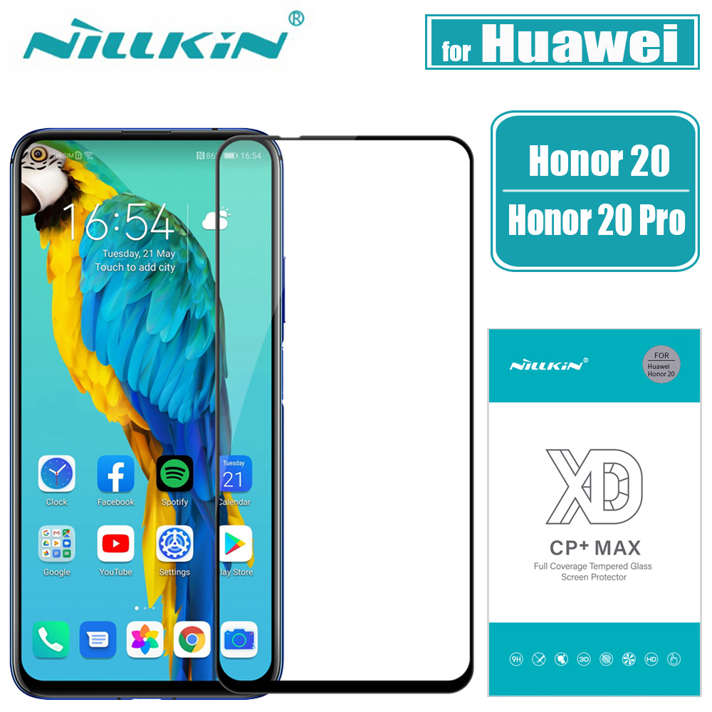 Nillkin Screen-Protector Huawei Honor Tempered-Glass Full-Glue-Cover 20-Pro For 3D