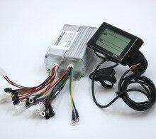 GREENTIME 9 Mosfet 36 В/48 В/60 в 1000 Вт BLDC контроллер двигателя Электронный велосипед бесщеточный драйвер скорости и дисплей SW900 один комплект