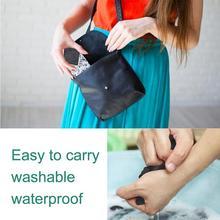 1pc Color Random New Reusable Panty Liner Cloth Waterproof Napkin Pads Pad Period Menstrual Cotton Washable Sanitary Pad Wo C4S7