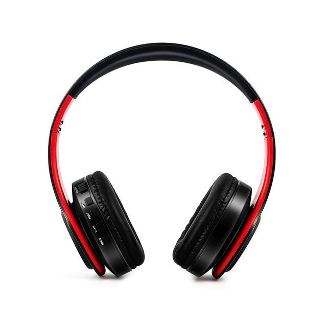 접이식 무선 헤드셋 BT 4.0 스테레오 헤드폰 스포츠 게임용 헤드셋